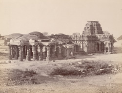 General view from the north-east of the Mahadeva Temple, Ittagi